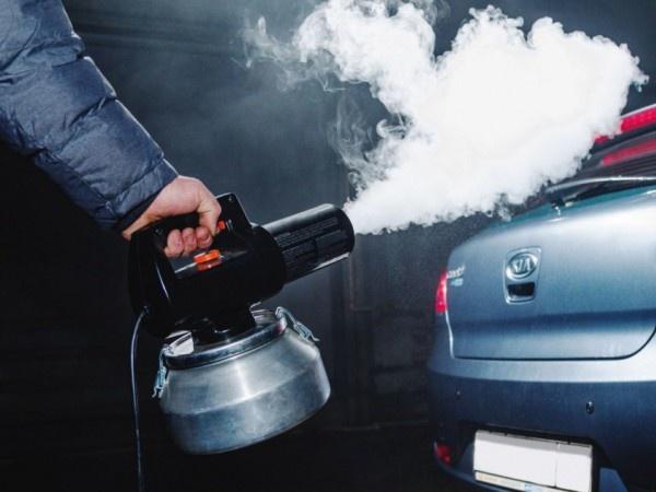 Как сделать запах в автомобиле 830